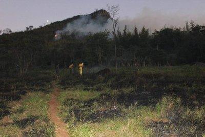 Ybyturuzu: Incendio pudo ser por quemas controladas