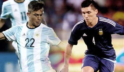 Dybala y Kranevitter están en la formación de Argentina