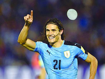 Uruguay golea a Venezuela y sigue al frente del clasificatorio