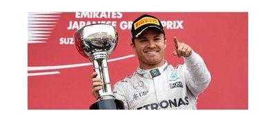 Rosberg da un golpe al Mundial en el GP de Japón