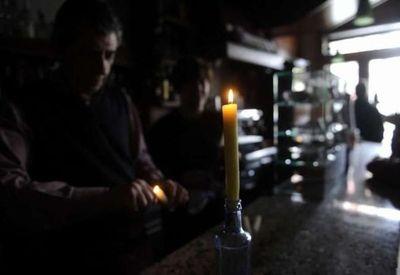 Negocios reportan pérdidas tras corte de energía eléctrica