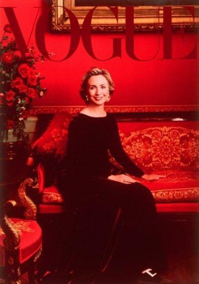 La revista Vogue apoya la candidatura de Hillary Clinton