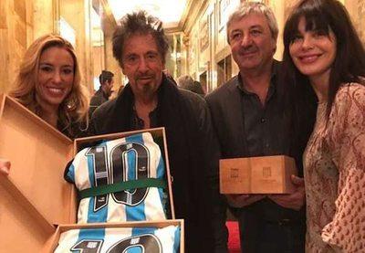 """Al Pacino se """"ganó"""" la 10"""