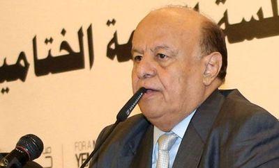 Presidente yemení muestra su rechazo total a la iniciativa de paz de la ONU
