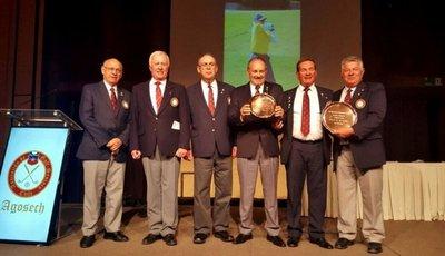 Fortlage y Portillo con premios en Suda Senior