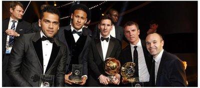 FIFA reemplaza el Balón de Oro con el premio The best