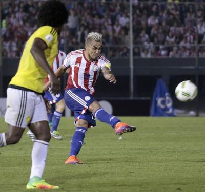 Darío Lezcano, desconvocado por lesión para juegos vs. Perú y Bolivia