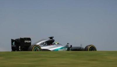 Hamilton, el más rápido en segunda sesión del GP de Brasil