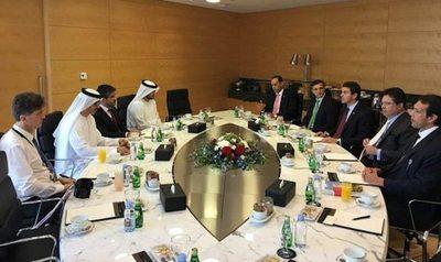 Ministros siguen buscando más inversores árabes