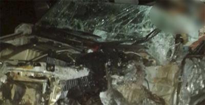 Accidente de tránsito deja dos heridos en Ayolas