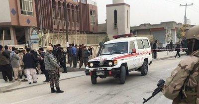 Afganistán: Atentando deja 32 muertos y 85 heridos