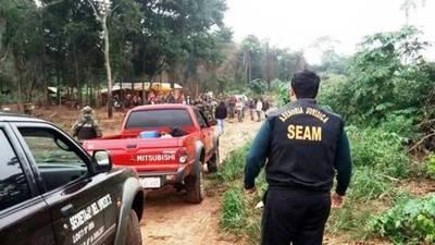 SEAM urge medidas por invasión a Reserva Natural en Morombi