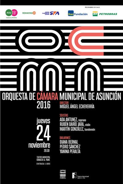 Orquesta Municipal invita este jueves a concierto de música latinoamericana