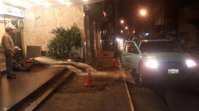 Transformadores subterráneos de la ANDE se inundaron
