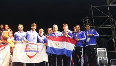 Paraguayos al podio en los Juegos Bolivarianos