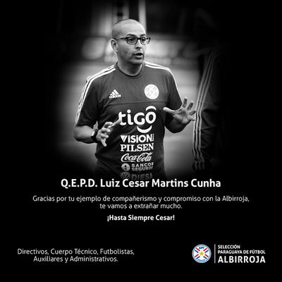 ¡Hasta siempre Cesar!