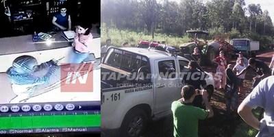 ASALTO QUEDÓ GRABADO Y TRAS PERSECUCIÓN DETUVIERON A MOTOCHORROS.