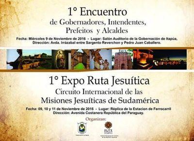 I EXPO RUTA JESUÍTICA SE PREPARA EN ENCARNACIÓN.
