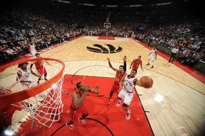 Toronto amenaza a Cleveland en el Este de la NBA