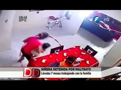 Imputan a niñera por maltrato infantil