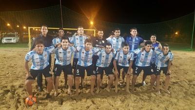 Villarrica arrancó con éxito fase clasificatoria de Interligas de Playa
