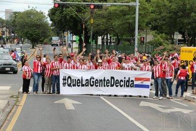 #QueLaGenteDecida: Movilización pro reelección