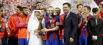 Plácido triunfo del Barça ante Al Ahli Jeddah en Doha