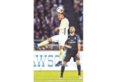 Valdez: Diferencia del Real Madrid es a nivel individual