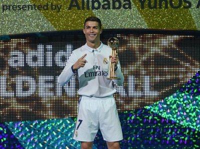 Cristiano Ronaldo se lleva el Balón de Oro