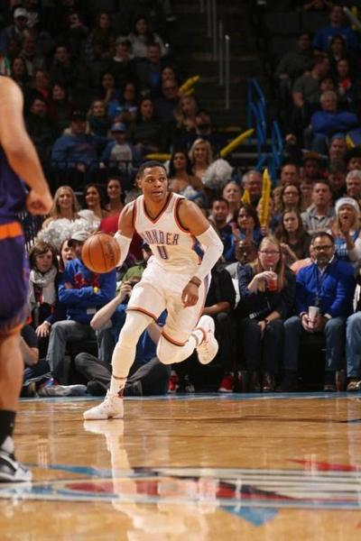 Westbrook y LeBron, números de ensueño en la NBA