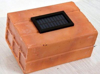 Innovadores ladrillos solares para Nanawa