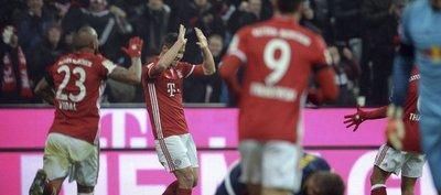 El Bayern derrota al Leipzig y se consolida en la punta