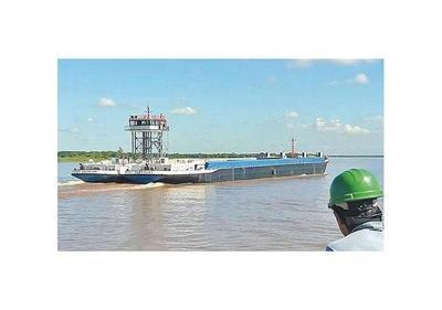 Megabuque logró exitosa navegación