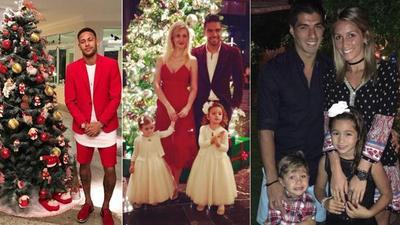 Así festejaron la Navidad las estrellas del deporte
