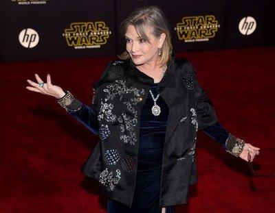 Carrie Fisher sigue estable en el hospital tras infarto