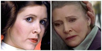 La princesa Leia, Carrie Fisher, muere a los 60 años