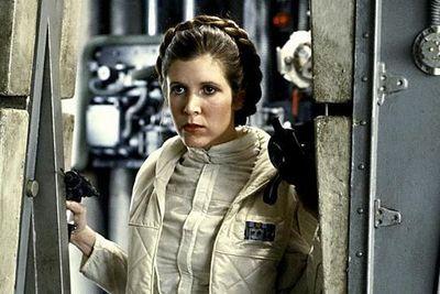 Carrie Fisher, la princesa que llegó de una lejana galaxia