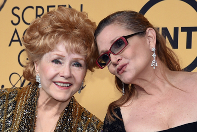 "Murió Debbie Reynolds, la madre de la ""Princesa Leia"""