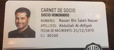Es un olimpista más: Al-Attiyah es socio honorario del club