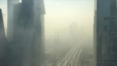 La gigantesca nube de humo que envuelve a Pekín en tan solo 20 minutos