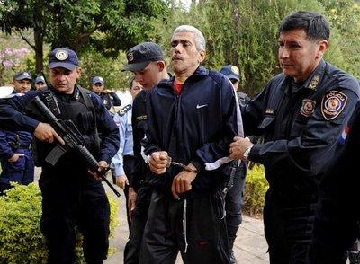 """Caso Jorge Rafaat: Sicario, """"conforme"""" con su reclusión en Penal de Tacumbú"""