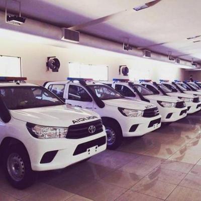 ITAIPU entregará 100 patrulleras 0km a la Policía Nacional