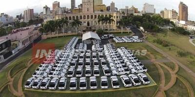 ESTAS SON LAS 100 PATRULLERAS QUE RECIBE LA POLICÍA NACIONAL