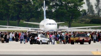 Autor de disparos en aeropuerto de EEUU actuó solo