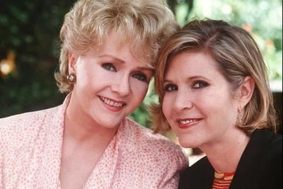 Carrie Fisher y Debbie Reynolds, en HBO