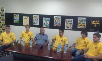 Guaraní presentó a sus nuevos jugadores