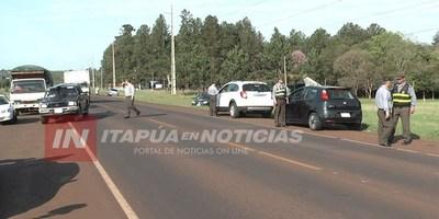 CONTROL DE ALCOTEST: DAN POSITIVO A 90 CONDUCTORES EN ITAPÚA.