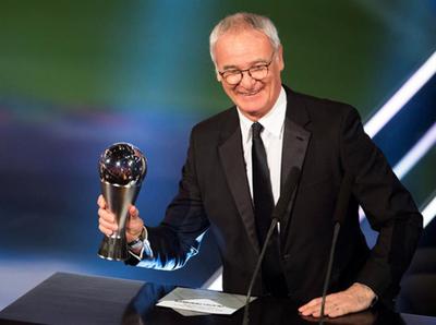 El italiano fue elegido como el mejor DT del 2016