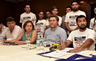 Opositores presentaron oficialmente la campaña para enjuiciar al Jefe de Estado