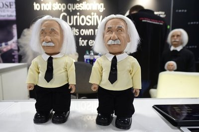 El robot que se parece a Albert Einstein